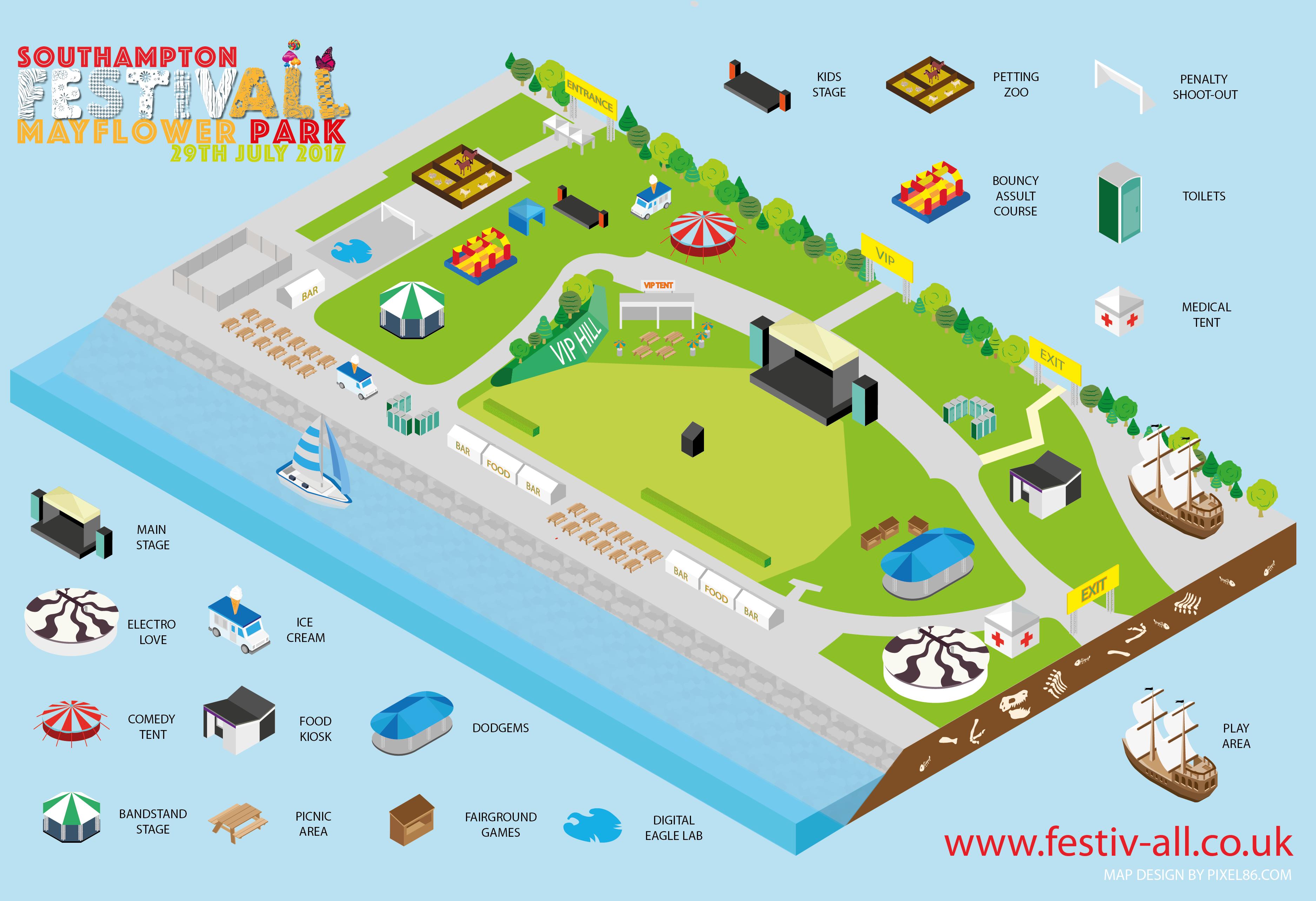 Festivall banner site