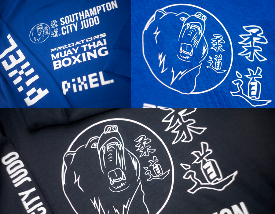 Southampton judo hoods close up