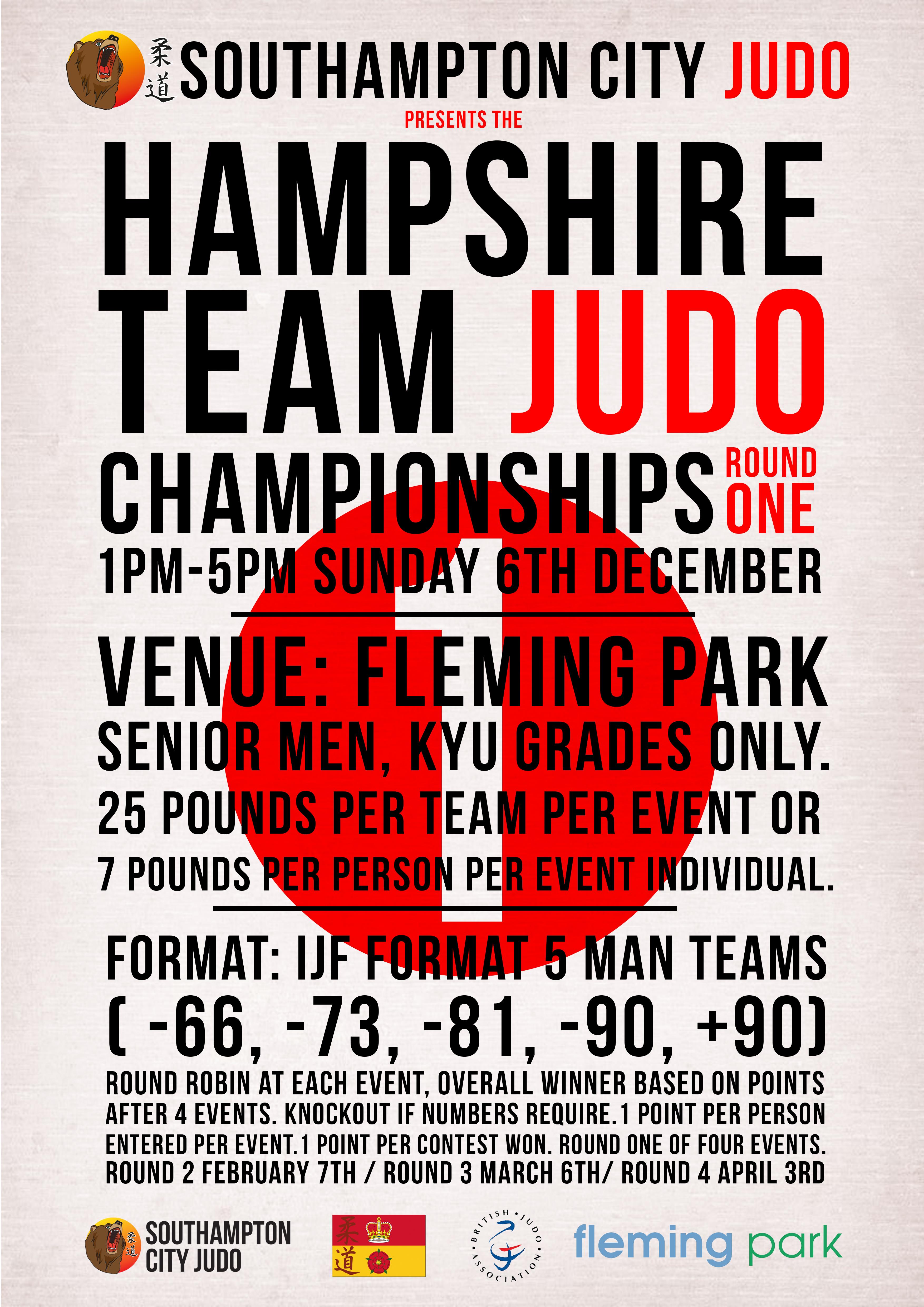 hampshire team Judo 1