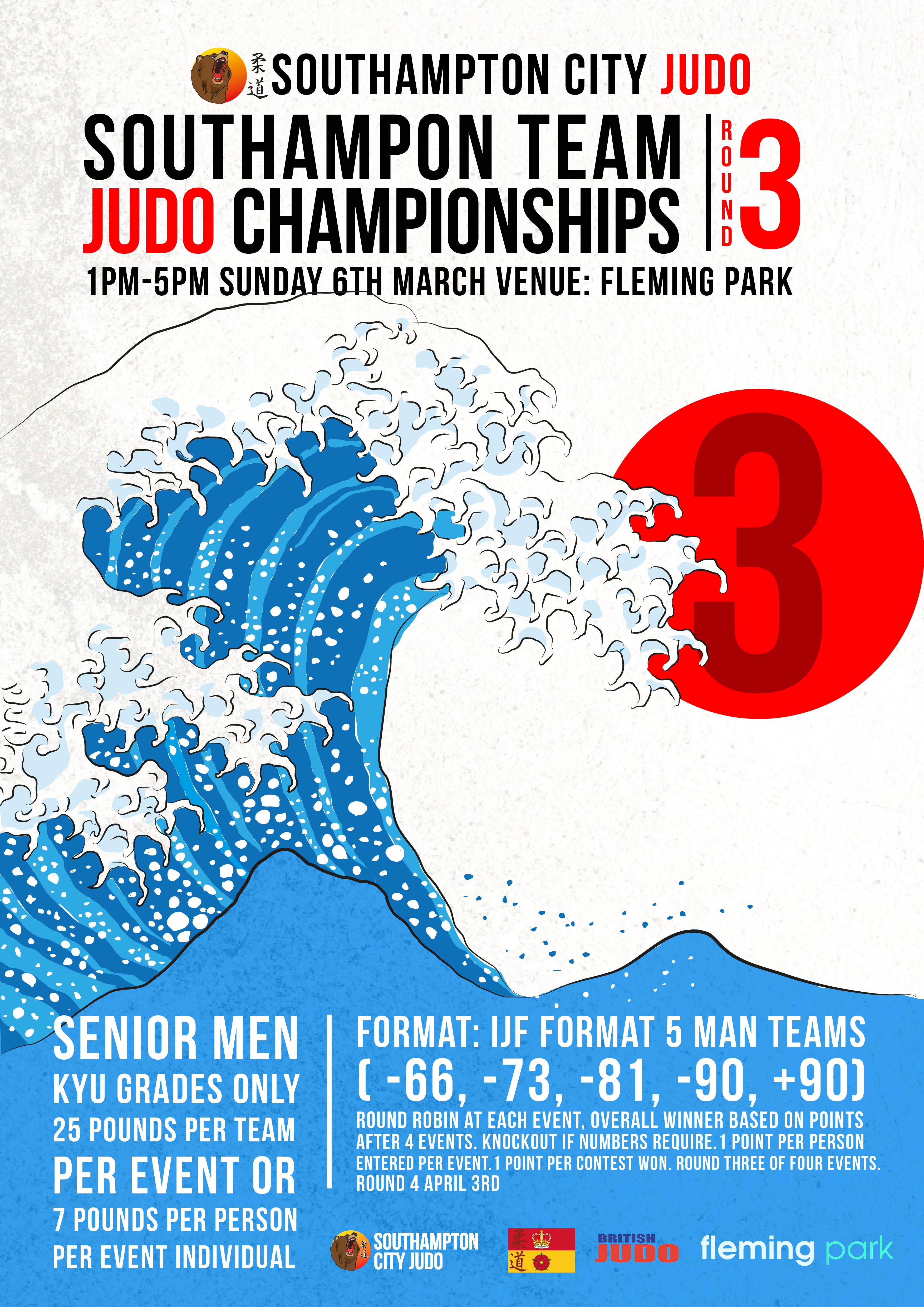 southampton city Judo round 3